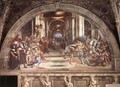 The Expulsion of Heliodorus from the Temple - Raphael