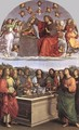 The Crowning of the Virgin (Oddi altar) - Raphael