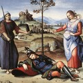 Allegory (or The Knight's Dream) - Raphael