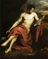 Saint John the Baptist in the Wilderness - Sir Anthony Van Dyck