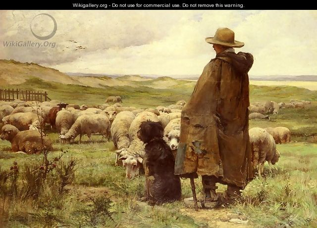 Le Berger (The Shepherd) - Julien Dupre