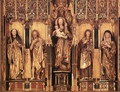 Altarpiece (central section) - Michael Erhart