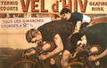 Races every Sunday, poster advertising the 'Vel d'Hiv' (velodrome d'hiver), 1910 - Jacques Cancaret