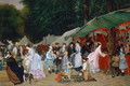 At The Fair,1877 - Camille-Leopold Cabaillot-Lasalle