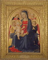 Madonna and Child with Angels, c.1467 - Bartolomeo Caporali