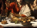 The Supper at Emmaus, 1601 (detail-1) - Caravaggio