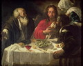 The Supper at Emmaus, c.1614-21 - Follower of Caravaggio, Michelangelo