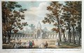 A View of the Temple of Comus at Vauxhall Gardens - Canaleti