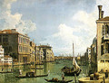 View of the Grand Canal 2 - (Giovanni Antonio Canal) Canaletto