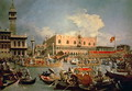 Return of the Bucintoro on Ascension Day - (Giovanni Antonio Canal) Canaletto