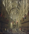 Interior of Henry VII's Chapel, Westminster Abbey, c.1750 - (Giovanni Antonio Canal) Canaletto
