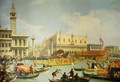 The Betrothal of the Venetian Doge to the Adriatic Sea, c.1739-30 - (Giovanni Antonio Canal) Canaletto