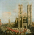 Procession of the Knights of the Bath - (Giovanni Antonio Canal) Canaletto