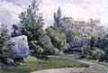 View in the Botanic Gardens, Regent's Park - William Callow