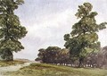 View in Hyde Park - William Callow