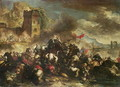 Cavalry skirmishes between Crusaders and Turks (2) - Nicolino Calyo