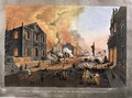 View of the Ruins after the the Great Fire in New York, December 16th-17th 1835 - Nicolino Calyo