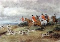 Fox Hunting in Surrey - Randolph Caldecott