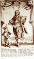 Portrait of Claude Deruet (1588-1660) Chevalier de l'ordre de Portugal - Jacques Callot