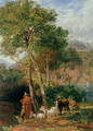 The Shores of Lake Lecco - Frederick Lee Bridell