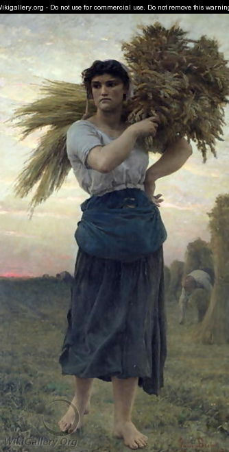 The Gleaner 1877 - Jules (Adolphe Aime Louis) Breton