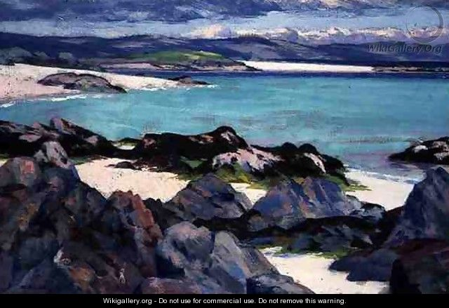 Iona, The East Bay, 1928 - Francis Campbell Boileau Cadell