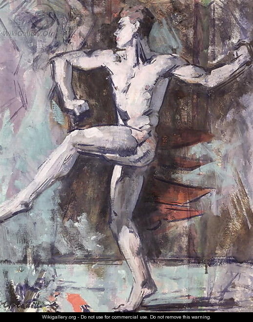 The Dancer - Francis Campbell Boileau Cadell