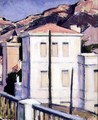The White Villa, Cassis, 1924 - Francis Campbell Boileau Cadell