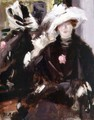 The Feathered Hat - Francis Campbell Boileau Cadell