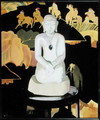 The Buddha (Black and Gold) c.1929-30 - Francis Campbell Boileau Cadell