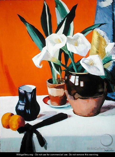 Arum Lilies - Francis Campbell Boileau Cadell