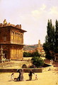 By the Pitti Palace, Florence - Antonietta Brandeis