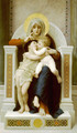 La Vierge, L'Enfant Jesus et Saint Jean Baptiste (The Virgin, the Baby Jesus and Saint John the Baptist) - William-Adolphe Bouguereau