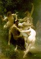 Nymphes et Satyre (Nymphs and Satyr) - William-Adolphe Bouguereau