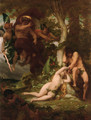 The Expulsion of Adam and Eve from the Garden of Paradise - Alexandre Cabanel