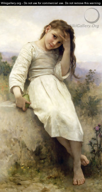 Petite Maraudeuse (Little Thief) - William-Adolphe Bouguereau