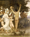 La Jeunesse de Bacchus [detail: right] (The Youth of Bacchus) - William-Adolphe Bouguereau