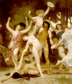 La Jeunesse de Bacchus [detail: centre] (The Youth of Bacchus) - William-Adolphe Bouguereau