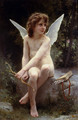 Amour a l'affut (Love on the Look Out) - William-Adolphe Bouguereau