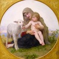 La Vierge à L'agneau (Virgin and Lamb) - William-Adolphe Bouguereau