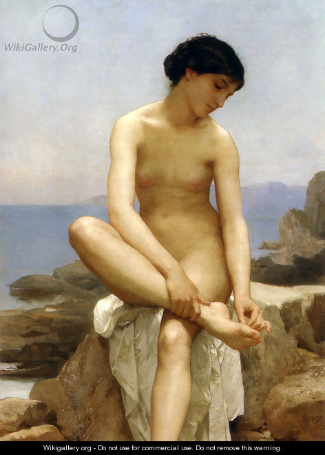 The Bather - William-Adolphe Bouguereau