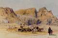 A Camel Train At Aden - Charles Wilda