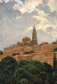 Cathedral at le Puy - James Carroll Beckwith