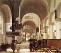 Interior of a Church - Emanuel de Witte