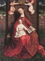 The Virgin And Child Censed By Two Angels - Flemish Unknown Masters
