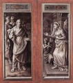 Triptych of the Micault Family (closed) - Jan Cornelisz Vermeyen