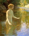 Enchanted Pool - John Henry Twachtman