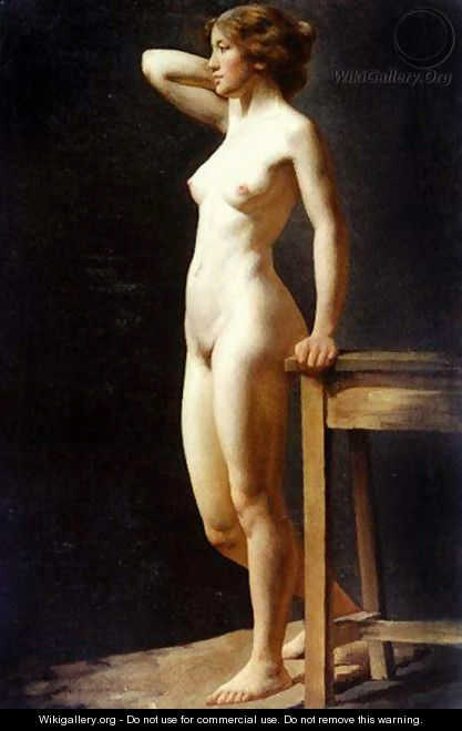 Female Nude - Charles H. Freeth