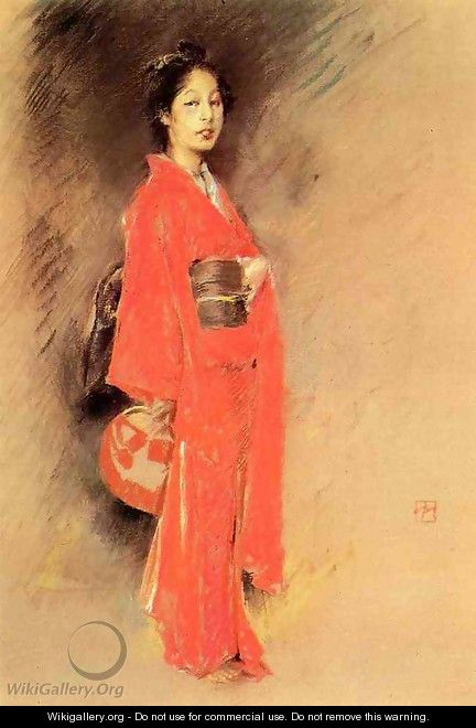 A Japanese Woman - Robert Frederick Blum
