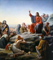 The Sermon on the Mount - Carl Heinrich Bloch